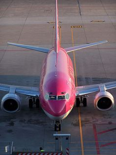 This pink thing by BobJamesBob!!! Bebe'!!! Love this pink plane!!!