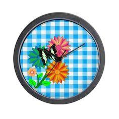 Sweet Spring Wall Clock by Elena Indolfi on #CafePress.com