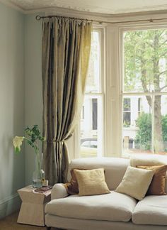 Living Room Curtain Ideas For Bay Windows Furniture San Diego 268 Best Window Treatments Images In 2019 Blinds Curtains 25 And Bow Simple Elegant Look Polebay Polescurtains