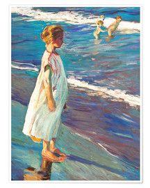 Joaquín Sorolla Y Bastida Strolling Along The Seashore Beautiful Art Paintings Art Drawing Artist
