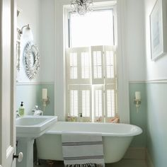 Bathroom with cinnamon walls | Country style bathrooms, Modern ...