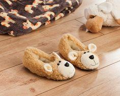 Nähanleitung: Teddy-Hausschuhe für Kinder | buttinette Blog