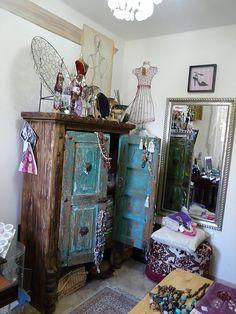 Mueble rustico antiguo