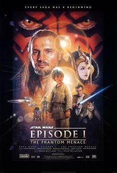 La guerra de las galaxias. Episodio I: La amenaza fantasma - Star Wars. Episode I: The Phantom Menace (1999)   La saga desde su comienzo... En una maniobra extraordinaria George Lucas comenzó su saga galáctica allá por el año 77...