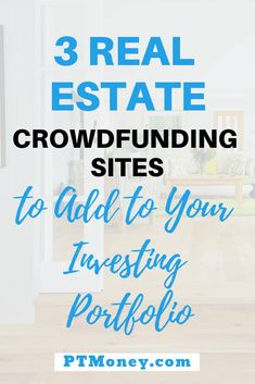 Invest in real estate without becoming a landlord with real estate crowdfunding sites. Here are revi Selling Real Estate, Real Estate Tips, Real Estate Investing, Buy Real Estate, Investment Advice, Investment Property, Coaching, Getting Into Real Estate