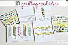 DIY greeting card ideas