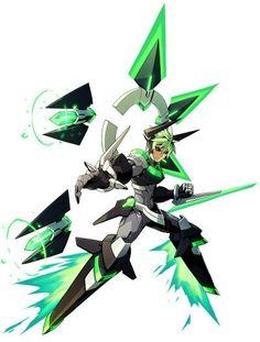 Azura Striker Gunvolt - Jota