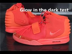 Nike Air Yeezy 2 Red Octobor ▏Glow in the Dark Test+ Detailed Review