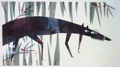 Marta Madureira  Found on Animalarium blog. This creature belongs in a children's book!!!
