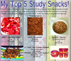 61 Best Study Snacks images | Study snacks Snacks Food
