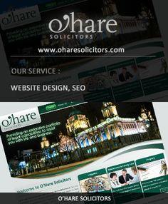 WSI Digital Web Provided: Website Design, SEO---> http://www.oharesolicitors.com/