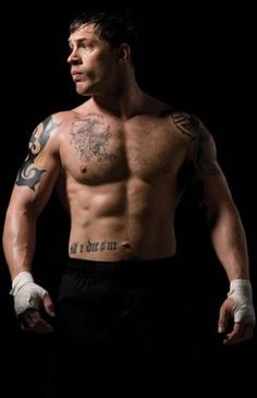 The Tom Hardy Workout | Bane & Warrior Programme... MYYYY sexy man, i will meet and sex him one day, lol.