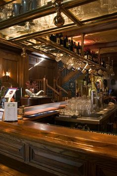Victorian era/styled bar (Our 100% Victorian bar, imported from England.)