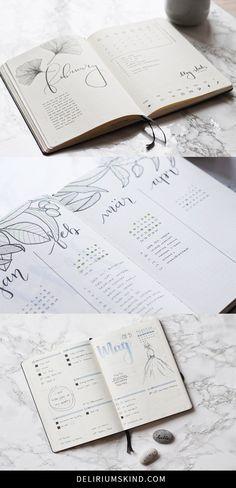 Bullet Journal - schon so oft gehört, aber was ist das und wie geht das? Ich zeige dir im Bullet Journal Guide, wie du dein eigenes BuJo starten kannst!
