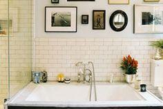 Modern Bathroom Interior Design Ideas – Two White Sink Bad Inspiration, Bathroom Inspiration, Tuesday Inspiration, Sweet Home, Bathroom Interior, Modern Bathroom, Design Bathroom, Bathroom Ideas, Master Bathroom