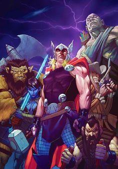 Thor: God Of Thunder #15 by Ron Garney