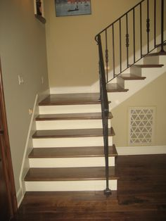 stairway+photos | These are just a few different styles of stair/railing systems we have ...