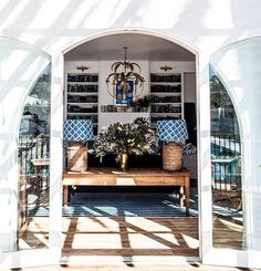 Halcyon House in Australia.designed by Anna Spiro. Its a boutique hotel that just opened. Halcyon House, Wanderlust, Family Room Design, Furniture Styles, Beautiful Space, Simply Beautiful, Beautiful Things, Grey Walls, Home Decor Items