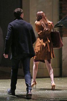 #JamieDornan & #DakotaJohnson Filming  Ana's Apartment    Credit: FiftyShadesOfGreyFan  More Pictures HereFB