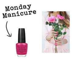 """Monday Manicure"" by overstock ❤ liked on Polyvore featuring beauty, OPI, Summer, BeautyTrend, manicuremonday and Overstock"