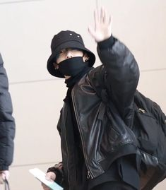 We gonna have blue hair jungkook for the comeback 🤧🤧 - Jung Kook, Busan, K Pop, Jin, Jungkook Aesthetic, Airport Style, Bts Airport, Airport Fashion, Incheon