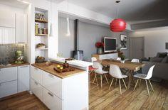 Renovação Em Apartamento De 95m² Mostra Como Aproveitar Espaços (De Fernanda Maranha - homify)