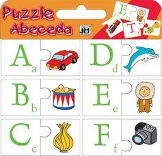 Obří puzzle - Abeceda | Didaktické hry |Aurednik CS