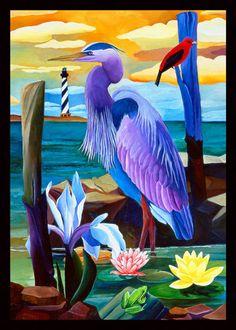 Ivey Hayes               Blue Heron
