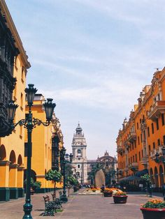 Historic center of Lima, Peru