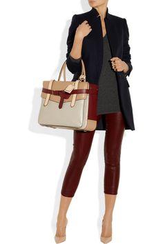 Reed KrakoffBoxer 1 tri-tone leather tote  bag