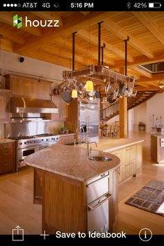 timber frame lake house rustic kitchen kitchen pinterest