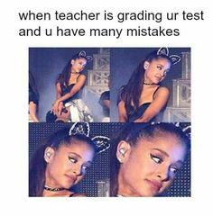 Ariana Grande Meme, Ariana Grande Pictures, Celebrity Memes, Celebrity Dads, Done Meme, Ariana Grande Wallpaper, School Memes, Oui Oui, Queen
