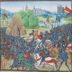 « Chroniques sire JEHAN FROISSART » Date d'édition :  1401-1500  Français 2644 Folio 256r