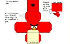 Freebie Angry Birds foldables to teach solid geometric figures.  Fun!
