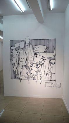 """the aim of every artist is to arrest motion…"" -Faulkner Urban Street Art, Urban Art, Mural Painting, Figure Painting, Street Art Graffiti, Art Club, Creative Art, Cool Art, Contemporary Art"