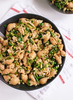 Spring Pea and Asparagus Pasta. The perfect way to use those early spring farmer's market finds!