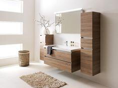 Primabad Exclusive Verdeler: www. Laundry In Bathroom, Bathroom Renos, Bad Inspiration, Bathroom Inspiration, Bathroom Design Small, Bathroom Interior Design, White Kitchen Interior, E Room, Modern Master Bedroom