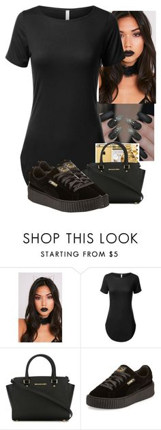 Untitled #56 by nicoleboss ❤ liked on Polyvore featuring MICHAEL Michael Kors and Puma
