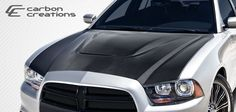 Dodge Charger Carbon Creations DriTech SRT Look Hood - 1 Piece Note: we recommend the use of hood pins with all hoods 2014 Dodge Charger, Automotive Industry, Carbon Fiber, 1 Piece, Vehicles, Accessories, Car Stuff, Campaign, Wings