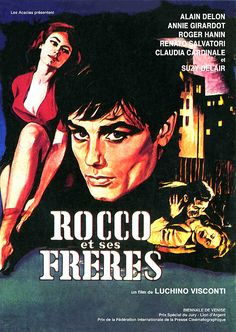 Famous Movie Quotes : – Picture : – Description Luchino Visconti – 1960 -Read More – Best Movie Posters, Famous Movie Quotes, Cinema Posters, Movie Poster Art, Claudia Cardinale, Alain Delon, Old Movies, Vintage Movies, Film Movie