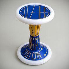 SH2 Hock Me | Sporthocker | SALZIG #salzig #sporthocker #cool #stool #hockme #design #sport