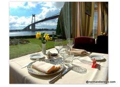 La Marine-RestaurantTancarville-Un, restaurant gastronomique en bord de Seine, au pied du pont de Tancarville