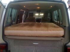 Bed for my caravelle - VW Forum - VW Forum Caravelle Vw, Vw T5 Forum, Volkswagen Transporter, How To Make Bed, Rear Seat, Van, Chiba, Camper Ideas, Campers