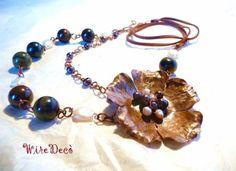 """""""fiore di perle"""" necklace"""