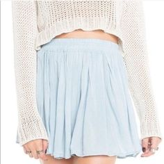 Brandy Melville skirt Brandy Melville skirt. Like new, gently worn, no flaws Brandy Melville Skirts