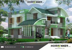 photos of designs | Indian Model House Plans Exterior Views ...