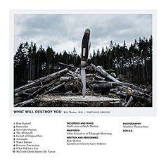 Kyle Morton : What Will Destroy You LP (Color Vinyl)