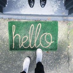 Loving these welcome mats from our stockist @koskela_