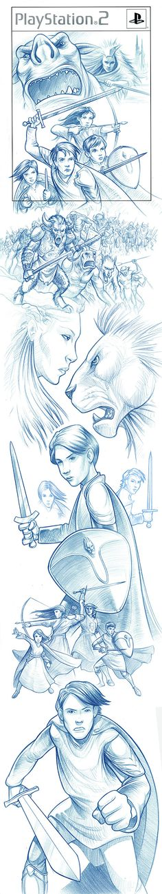 'Chronicles of Narnia - The Lion, the Witch & the Wardrobe' cover art