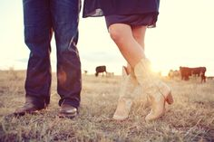 country, cowboy boots, #boots, cows